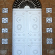Door to Bahai Temple — Stock Photo