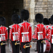 Changing of guards — Stock Photo