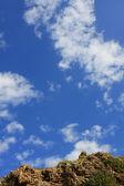 Rocks and blue sky — Stock Photo