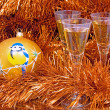 Royalty-Free Stock Photo: New Year`s Photo