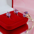 Stock Photo: Jewellery with amethystes