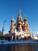 Winter in Moscow — Stock Photo