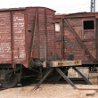Stock Photo: Antique liner-trains