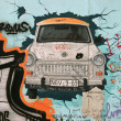 Fragment of Berlin wall — Stock Photo #1016020