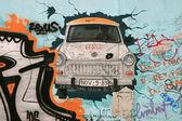 柏林墙的片段 — 图库照片