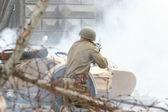Battle incident — Stock Photo