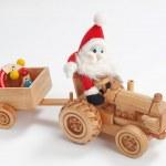 Christmas driver — Stock Photo