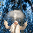 Winters joy — Stock Photo
