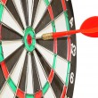 Royalty-Free Stock Photo: Arrow darts in a center a target