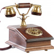 Isolated old-fashioned phone — Stock Photo #1018446