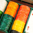 Stock Photo: Casino chips and playing cards