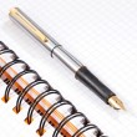 penna stilografica — Foto Stock
