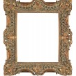 Royalty-Free Stock Photo: Isolated decorative bronze frame