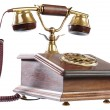 Isolated old-fashioned phone — Stock Photo #1104126