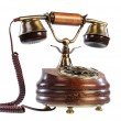Isolated old-fashioned phone — Stock Photo #1104275
