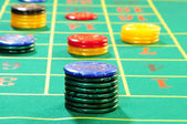 Casino chips — Foto de Stock