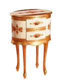 Luksusowych wc tabeli — Zdjęcie stockowe