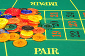 Casino chips — Stockfoto