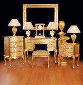 Luxurious interior items — Stock Photo