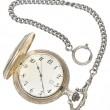 Hanging pocket watch — Stock Photo