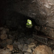 Light at end of cave — Stockfoto #1033050