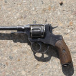 Stock Photo: Old revolver