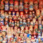 Russian Matryoshka — Stock Photo #1037533