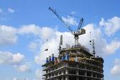 Jornada de trabajo en construcción — Foto de Stock