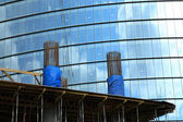 Monolitisk teknik av byggnad — Stockfoto