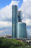 Building of sky-scraper — Stock Photo