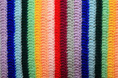 Varicoloured knitted fabric — Stock Photo