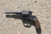 Old revolver — Stock Photo