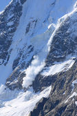 Avalanche jump — Photo