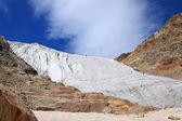 Climbers on a glacier — Stock Photo