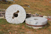 Old millstone — Stockfoto