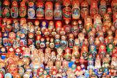 российские матрешка — Стоковое фото