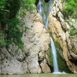 Waterfall with motion blur - Stockfoto