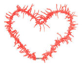 Coral heart — Stock Photo
