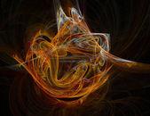 Abstract explode 3d v3 — Stock Photo