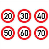 Road signs. — Stock Photo
