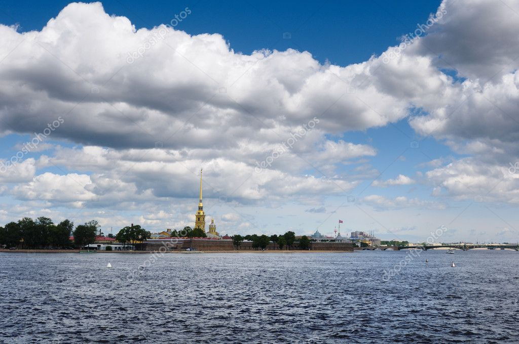 Peter and Paul Fortress ,St-Petersburg — Stock Photo #1068694