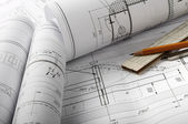 Architecture drawing — Stock Photo
