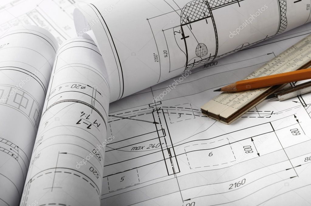 Architecture drawing stock photo scorpp 1995813 for Architecture drawing tools