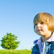 Child on meadow — Stock Photo #1018891