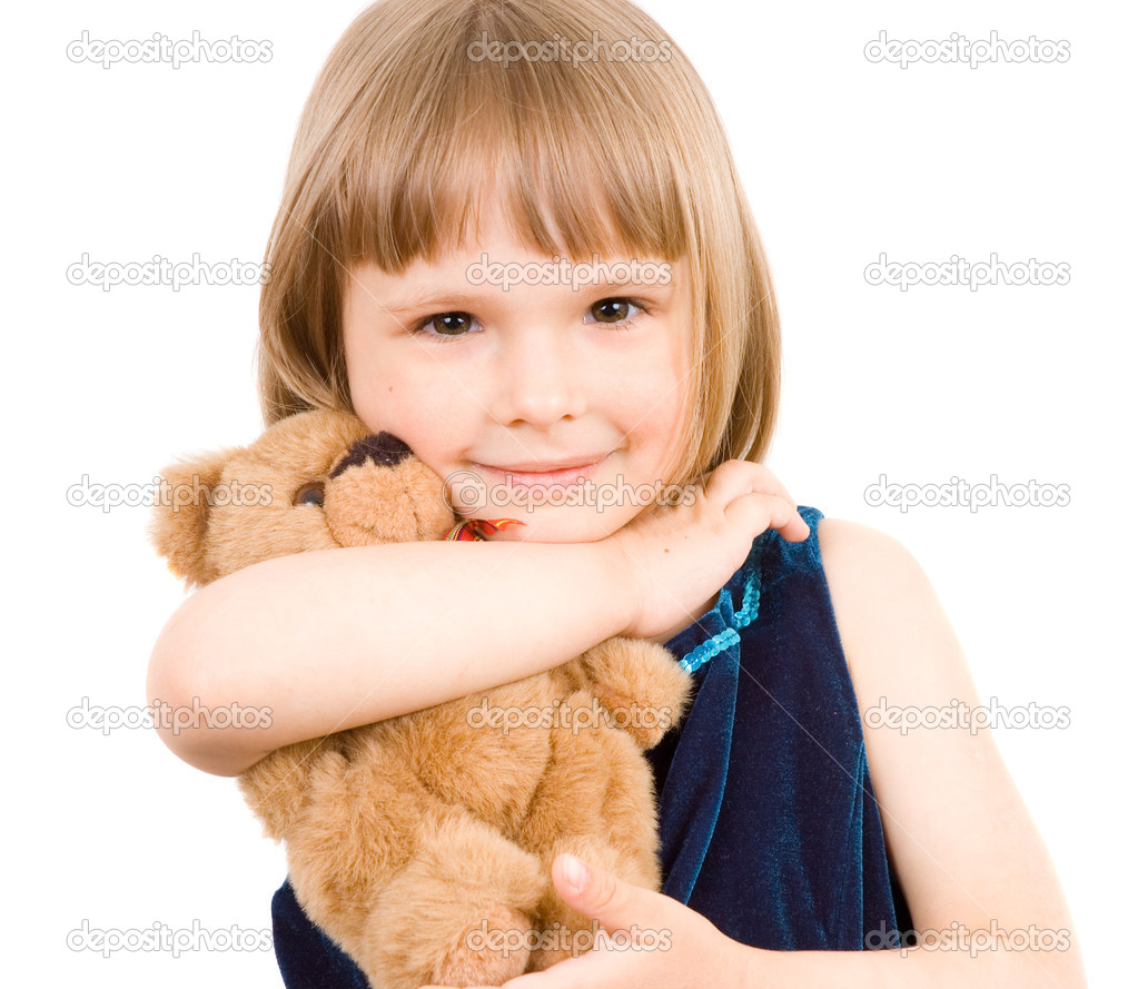 Child with toy — Sto...