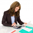 Portrait of a businesswoman — Stock Photo #1098561