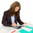 Portrait of a businesswoman — Stock Photo