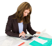 Portrait of a businesswoman — Stock Photo