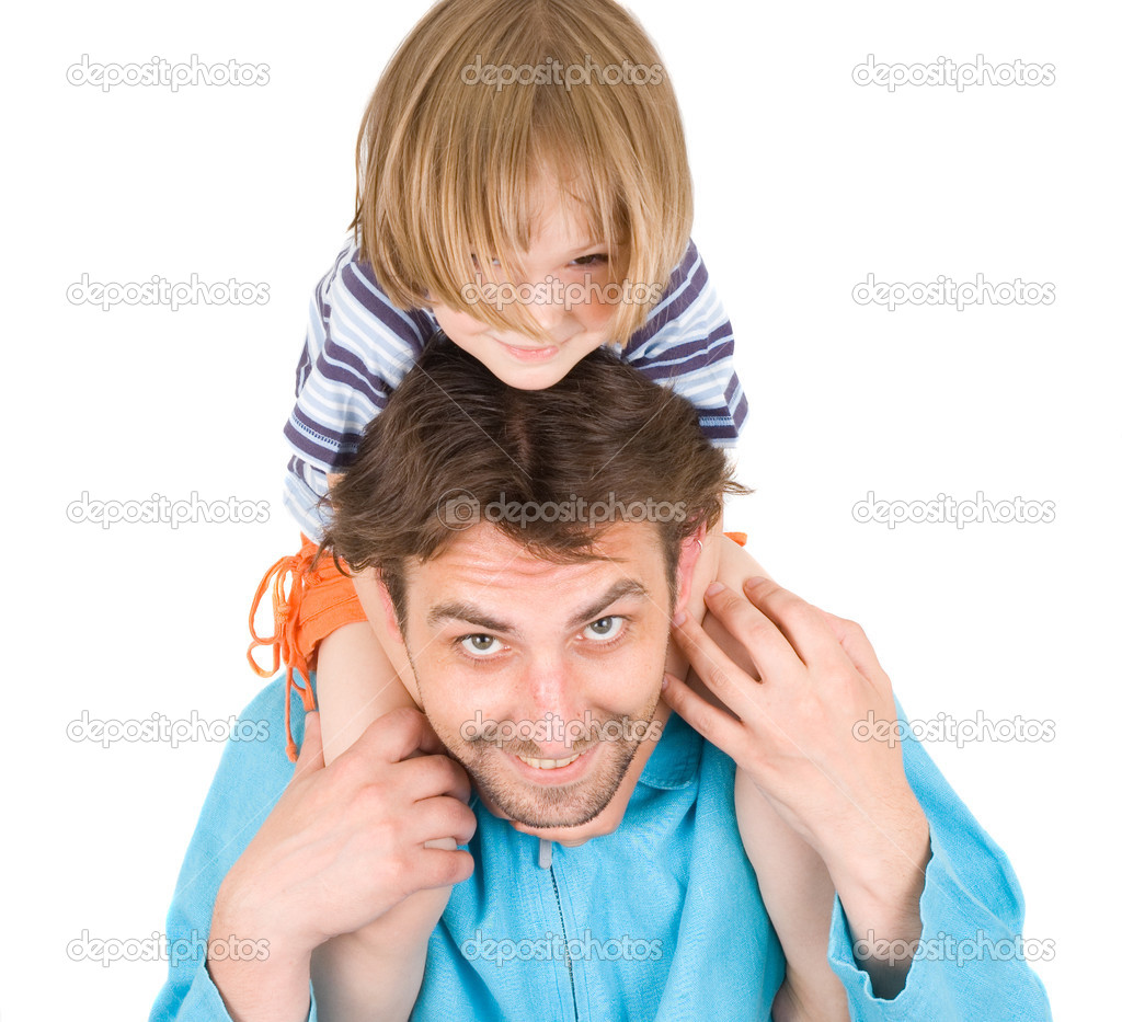 Dad and daughter — Stock Photo #1103431