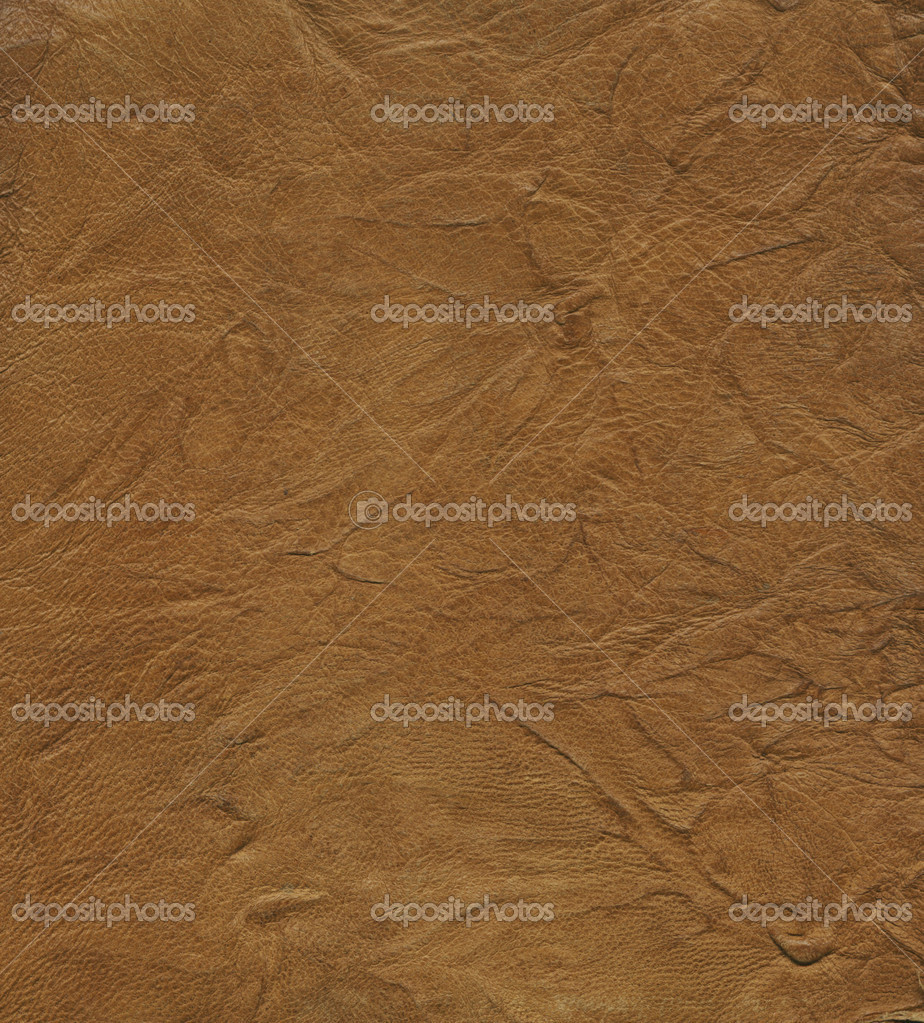 Brown leather background. For you design — Photo #1029304